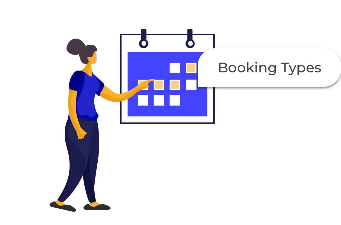 Booking Types Illustration